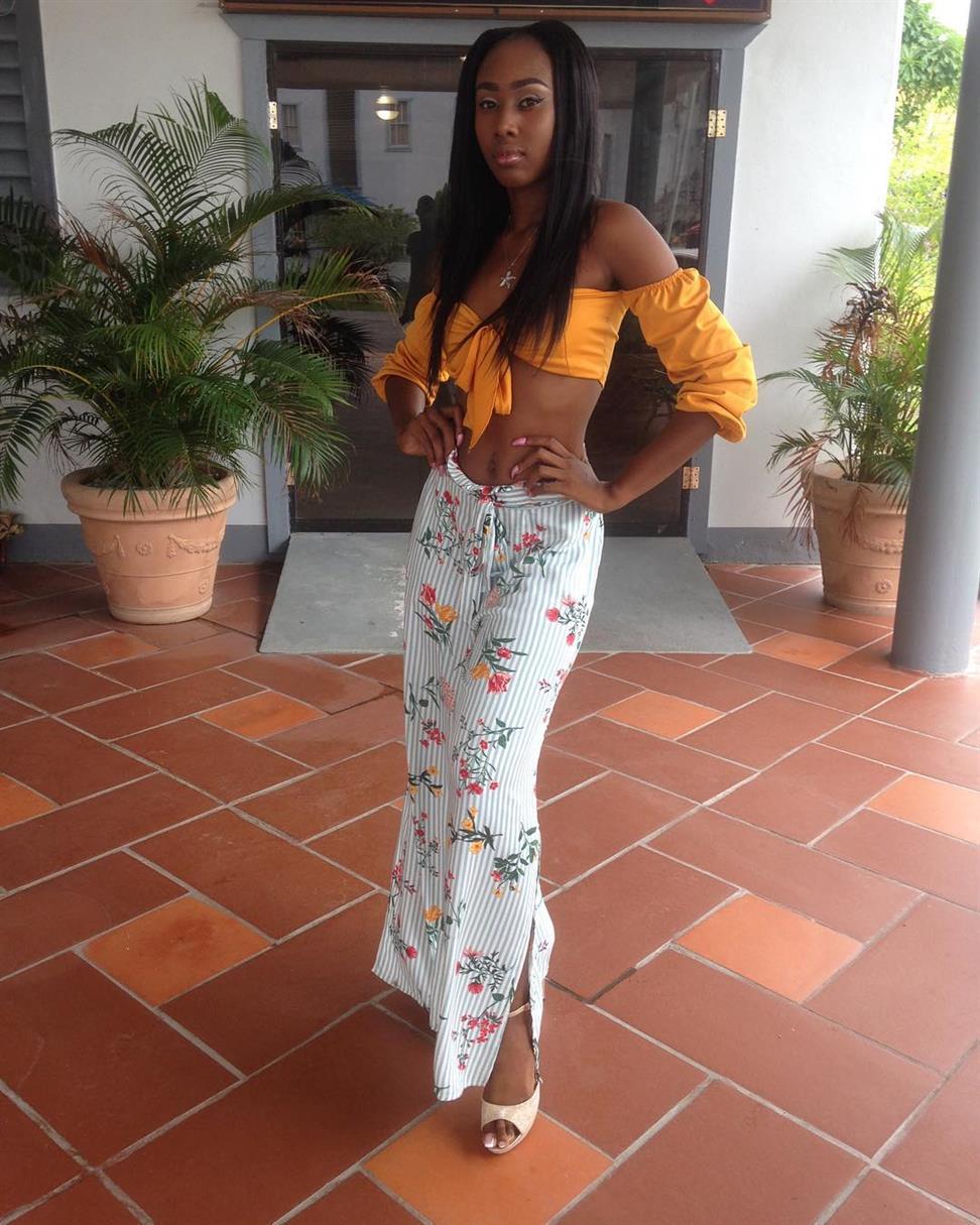 Miss Earth Guyana 2018 finalist Akisha Payne 'Beauties for a Cause' Project