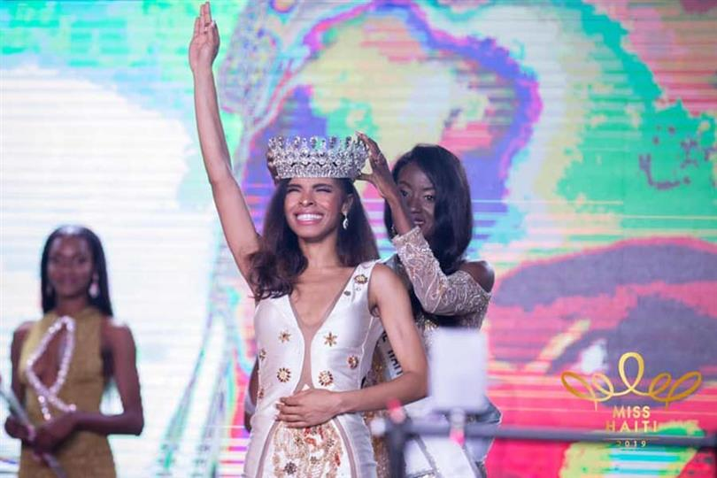 Gabriela Clesca Vallejo crowned Miss Haiti 2019