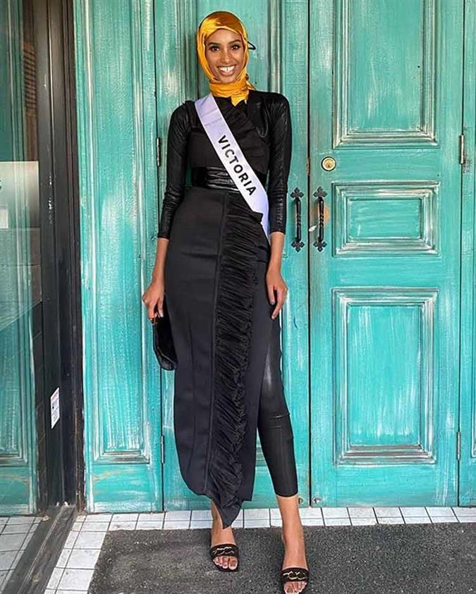 Hanan Ibrahim Miss Universe Australia 2020 Finalist