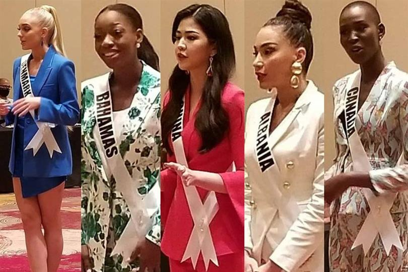 Inside the Miss Universe closed-door interview