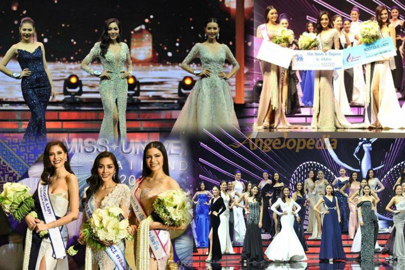 Miss Universe Thailand 2017 contestants raise the glamour quotient in Evening Gown Competition