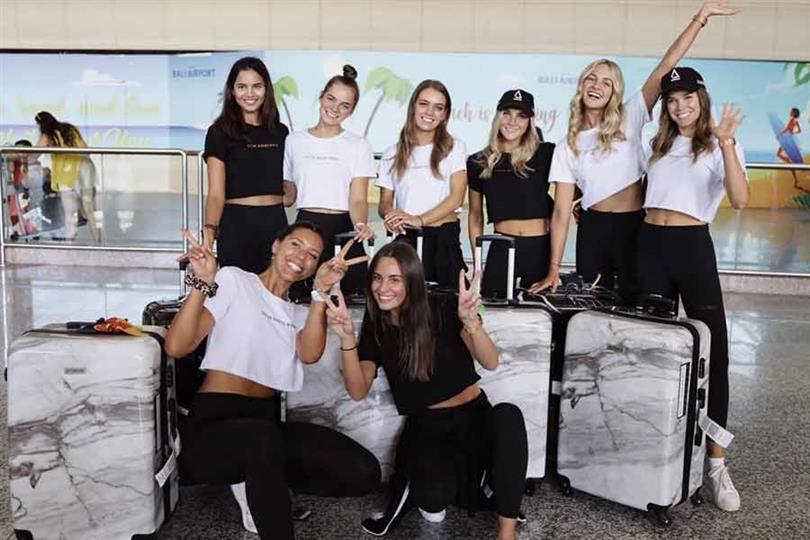 Miss Universe Australia 2019 delegates embark their boot camps in Bali