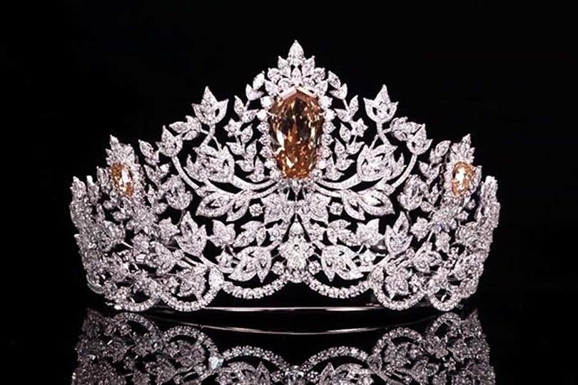 The Mouawad's newly designed crown for Miss Universe 2019