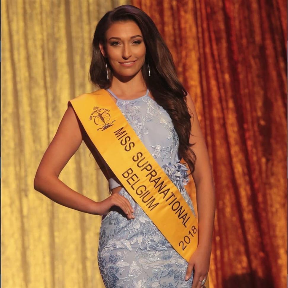Dhenia Covens to represent Belgium in Miss Supranational 2018