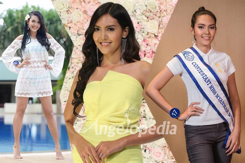 Ei Kyawt Khaine crowned as Miss Myanmar World 2017