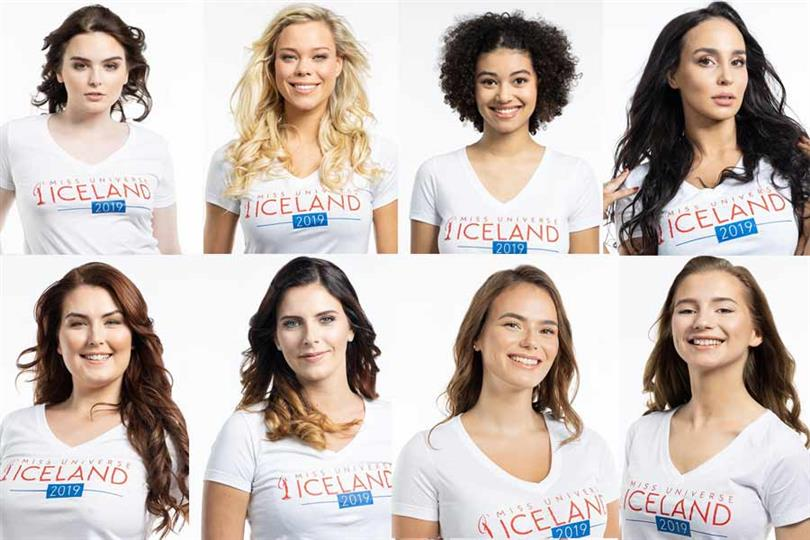 Miss Universe Iceland 2019 Meet the Delegates