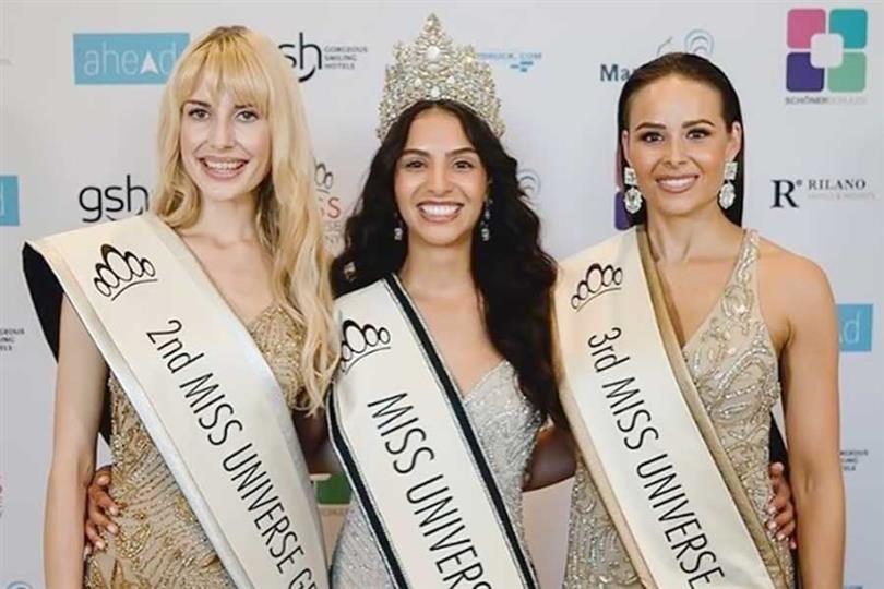Miriam Rautert crowned Miss Universe Germany 2019