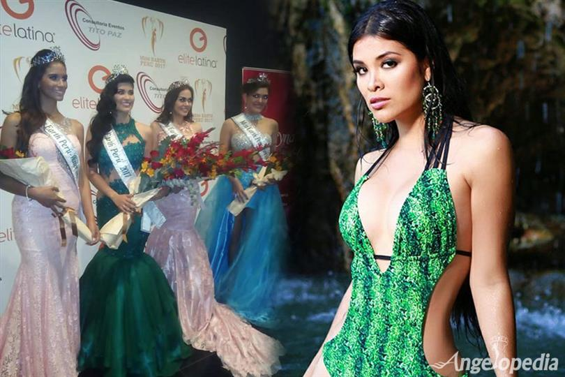 Karen Isabel Rojas Chávez crowned Miss Earth Peru 2017