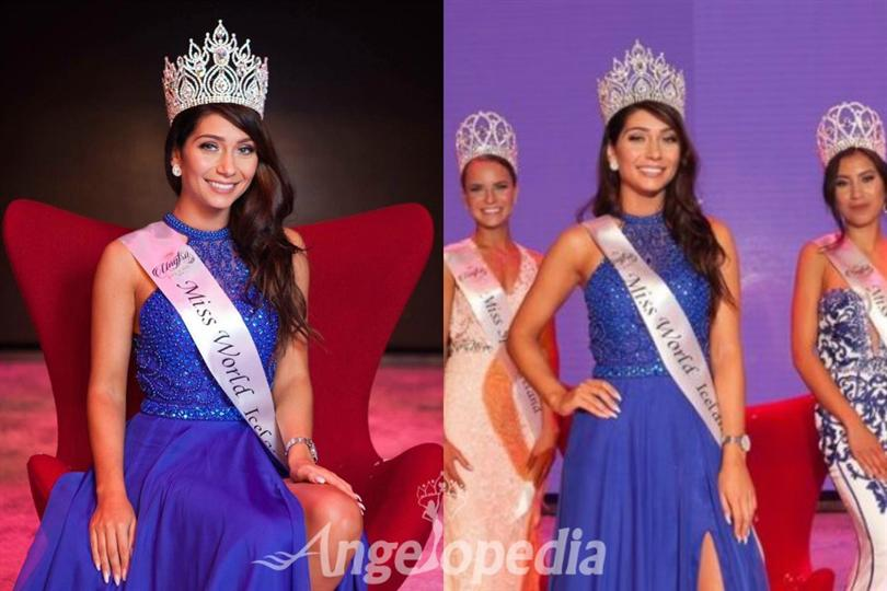 Anna Lara Orlowska crowned as Miss Iceland 2016