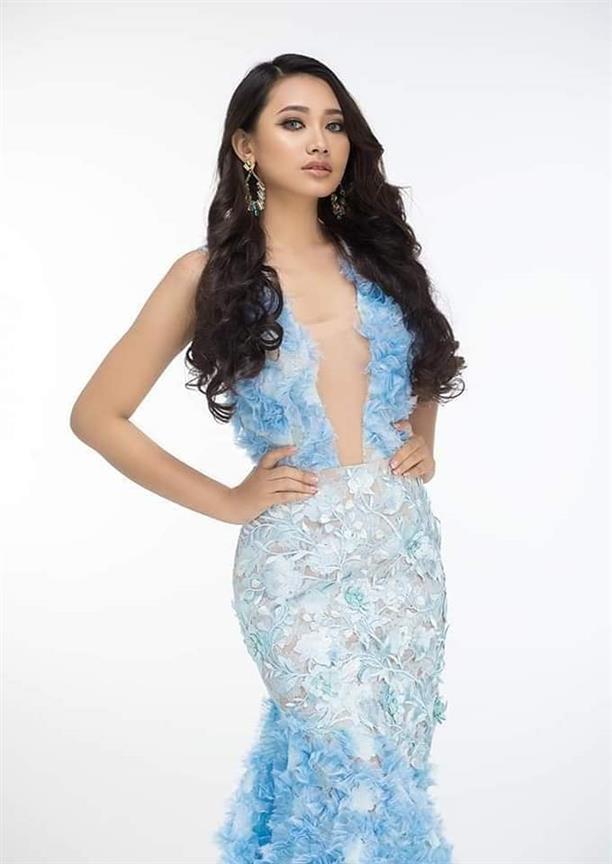 Su Su Sandy emerging as the potential winner of Miss Universe Myanmar 2019