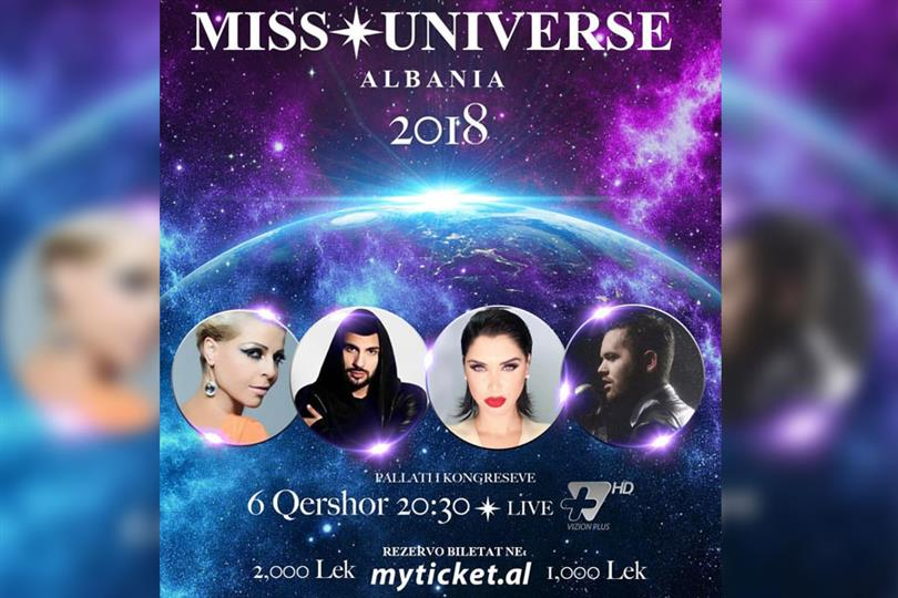 Miss Universe Albania 2018; surprises and special guests
