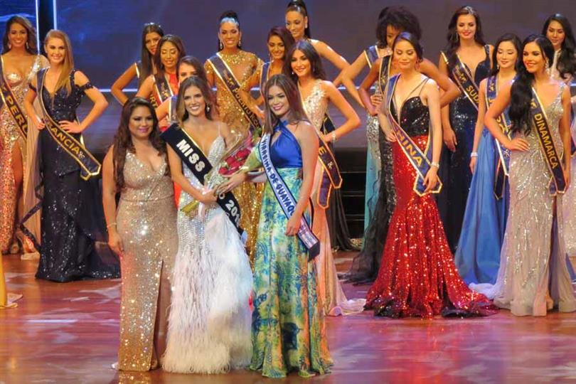 Anairis Cadavid Ardila of Colombia crowned Miss United Continents 2019