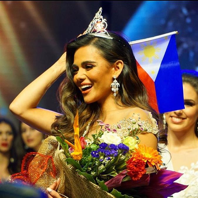 Karen Gallman devotes her Miss Intercontinental 2018 crown to Philippines