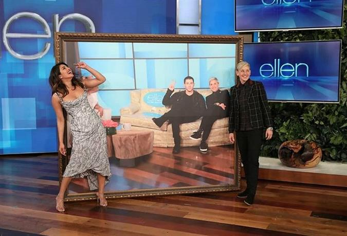 Priyanka Chopra talks marital bliss, new movie and more on The Ellen Show