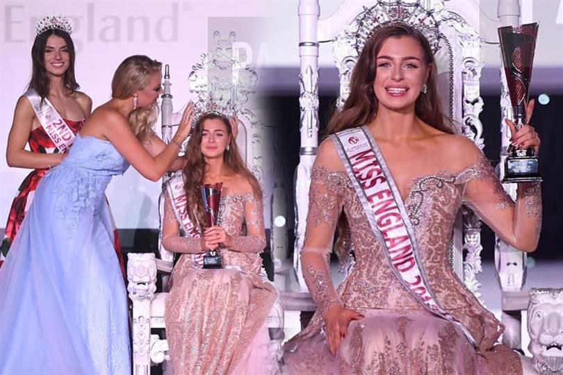 Alisha Cowie crowned Miss England 2018