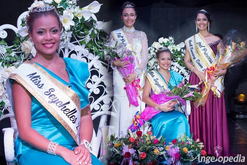 Hillary Joubert crowned as Miss Seychelles World 2017