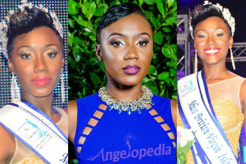 Erika Renae Creque of British Virgin Islands vying for the Miss Universe 2016 crown