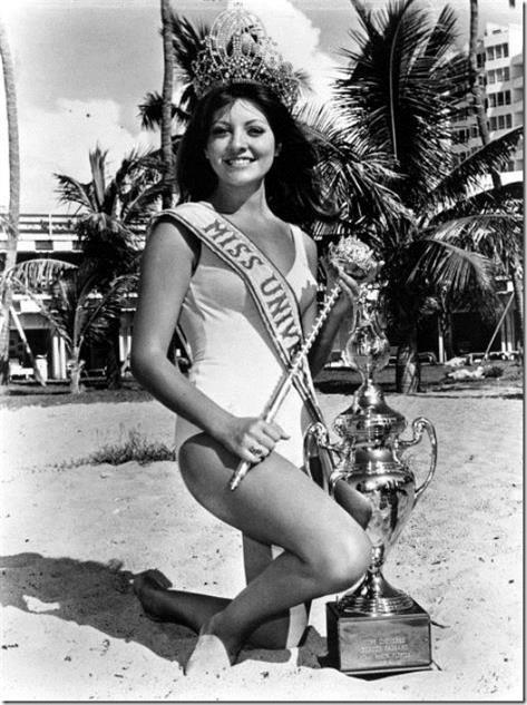 Miss Universe 1971 Georgina Rizk