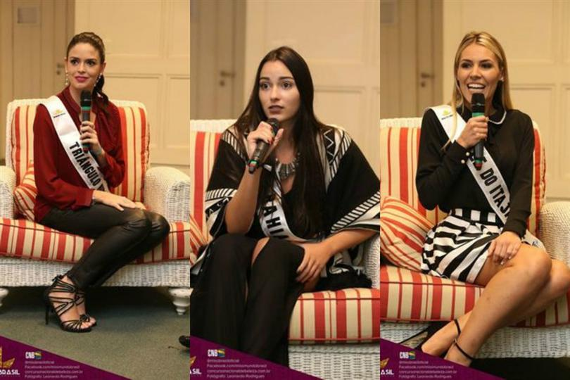 Preliminary Interview of Miss World Brazil 2016 contestants