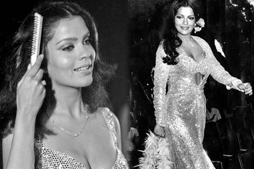 Zeenat Aman Miss Asia Pacific 1970
