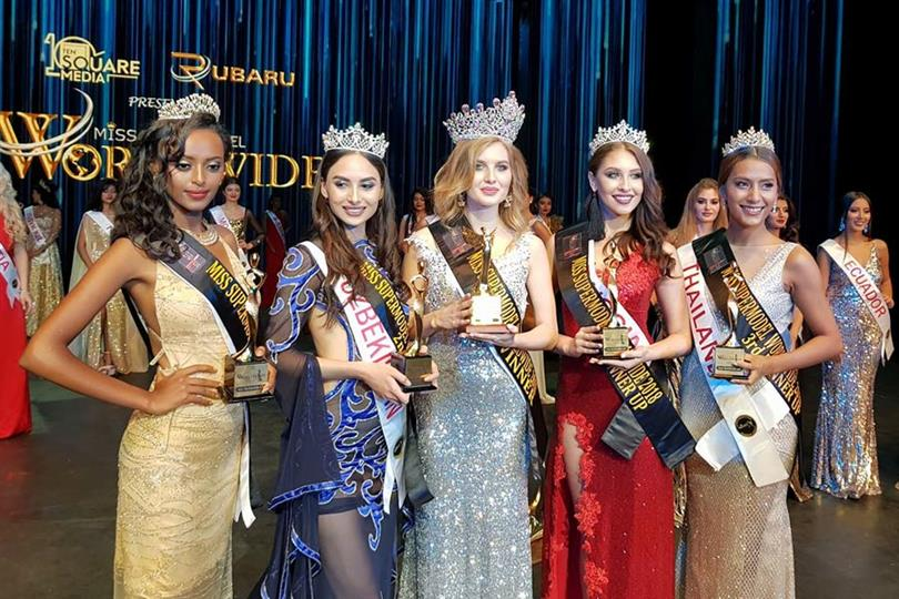 Aleksandra Liashkova crowned Miss Supermodel Worldwide 2018
