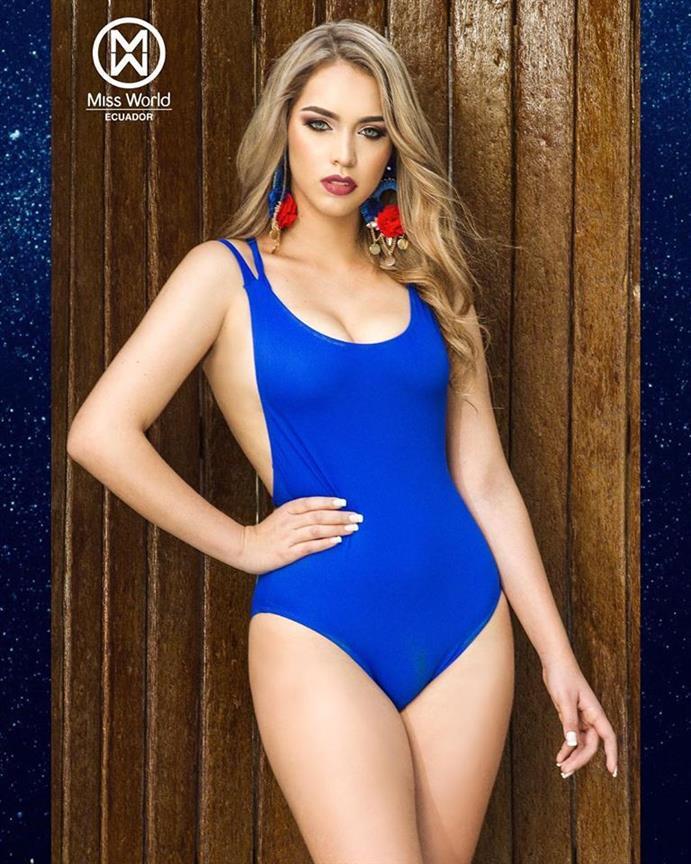 Miss World Ecuador 2018 Top 5 Official Swimsuit Photos